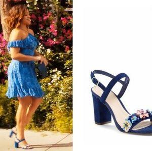 a7a501fb3a0 bp Shoes - BP Lula Block Heel Slingback Sandals Size 7